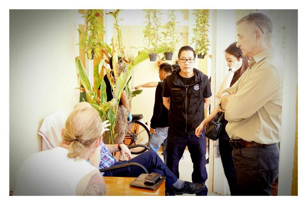 DSI ร่วมกับตำรวจ ศพดส. บุกรวบเฒ่าเยอรมันกระทำอนาจารเด็กกลางพัทยา