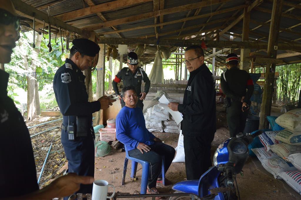 DSI สนธิกำลังร่วมกับทหารจับกุมผู้ต้องหาในคดีพิเศษที่  231/2553