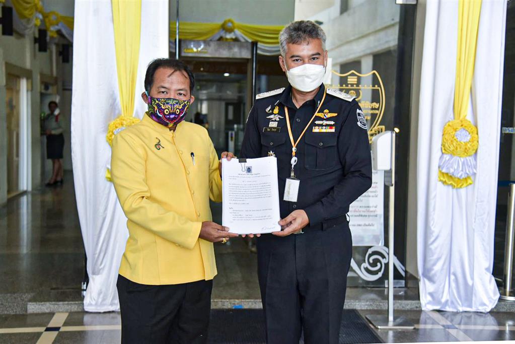 ศรีสุวรรณเข้ายื่นคำร้องต่อ DSI สอบคมนาคม/รฟท.จับพิรุธรถไฟความเร็วสูงไทย-จีน