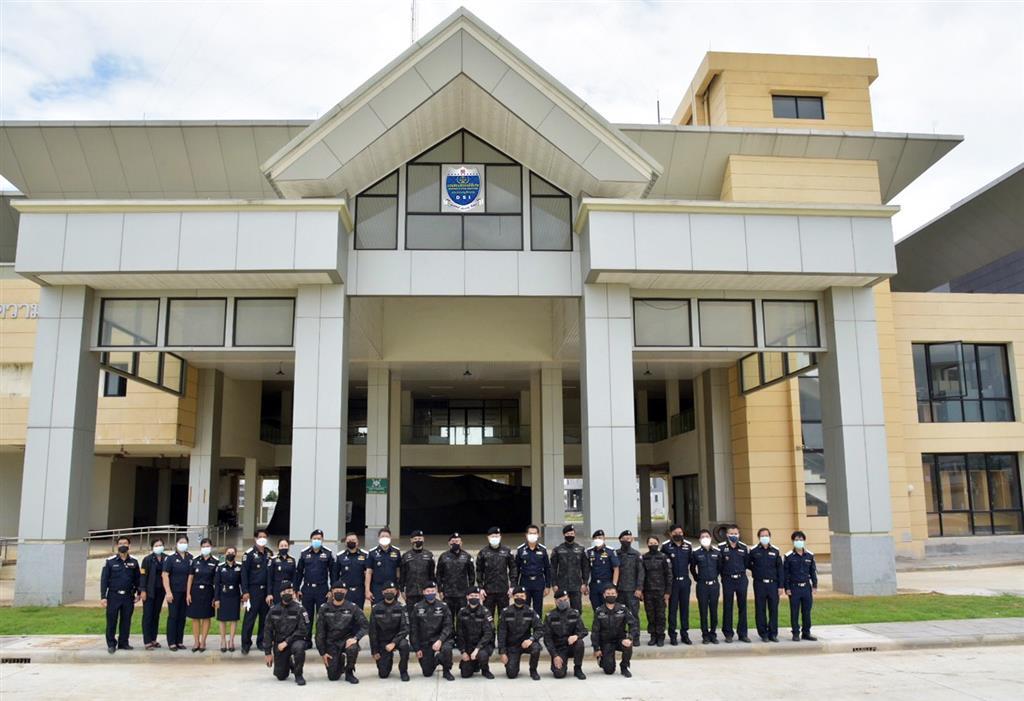 คณะผู้บริหาร DSI ตรวจความคืบหน้าสถาบันสอบสวนคดีพิเศษ (DSI Academy) เขตหนองจอก กทม.