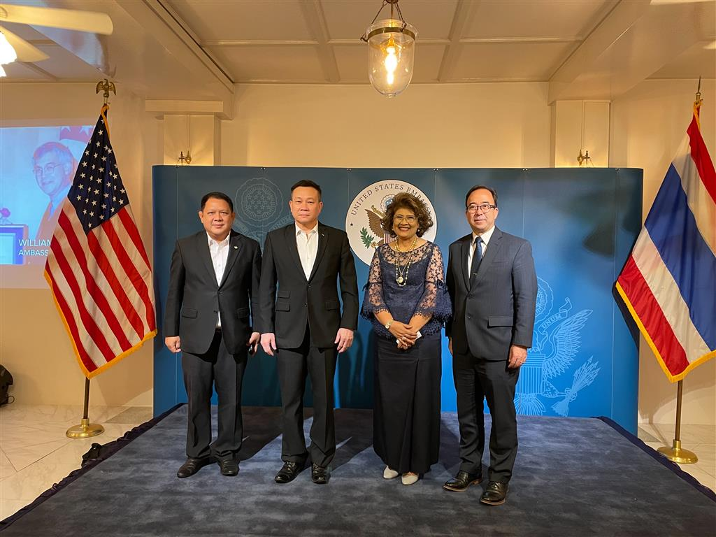DSI executives attended a reception hosted by U.S. Charge d' Affaires