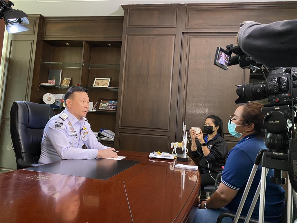 """PPTV สัมภาษณ์รองอธิบดี ออกอากาศ รายการสารคดี """"สารตั้งต้น"""""""