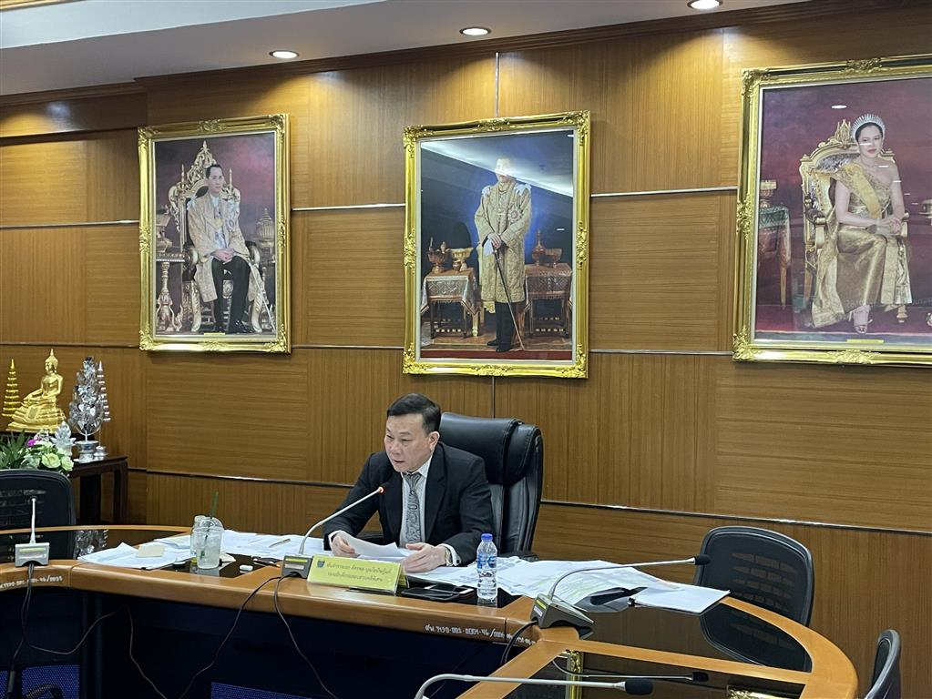 DSI ชี้แจงต่อคณะอนุกรรมาธิการพิจารณาความเชื่อมโยงงบประมาณ กับแผนแม่บทภายใต้ยุทธศาสตร์ชาติ และแผนการปฎิรูปประเทศ (ฉบับปรับปรุง) ของวุฒิสภา ทางออนไลน์