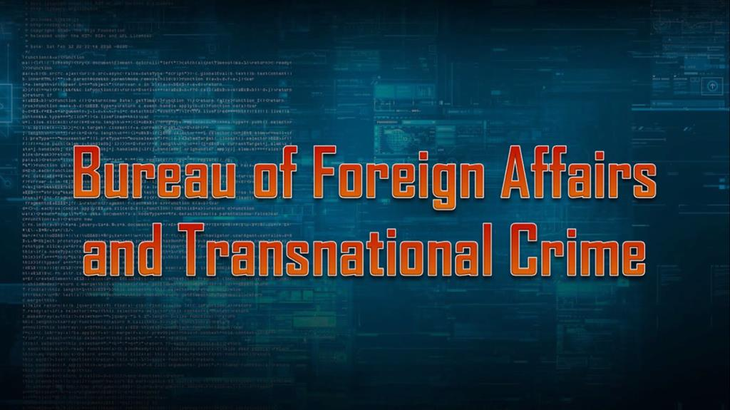 Bureau of Foreign Affairs and Transnational Crime