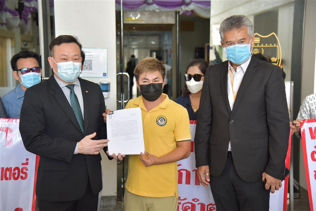 DSI received a complaint of injured persons deceived to invest in buying-selling lottery with over 100 million Baht damage