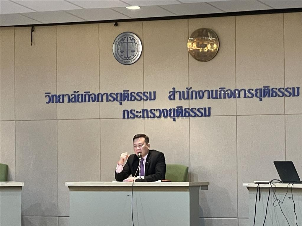 Deputy Director-General attended panel discussions of trainees in the 11thclass of Special Case Inquiry Course